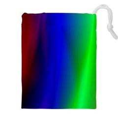 Graphics Gradient Colors Texture Drawstring Pouches (XXL)