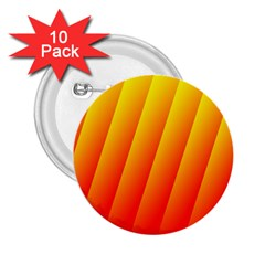 Graphics Gradient Orange Red 2.25  Buttons (10 pack)