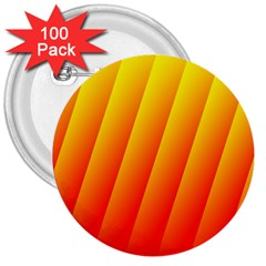 Graphics Gradient Orange Red 3  Buttons (100 pack)