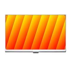 Graphics Gradient Orange Red Business Card Holders