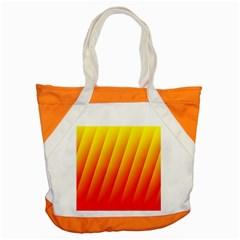 Graphics Gradient Orange Red Accent Tote Bag