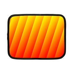Graphics Gradient Orange Red Netbook Case (Small)