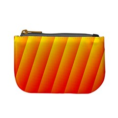 Graphics Gradient Orange Red Mini Coin Purses