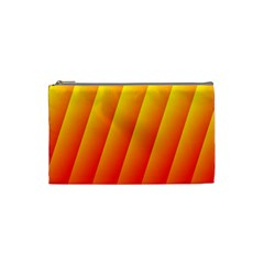Graphics Gradient Orange Red Cosmetic Bag (Small)