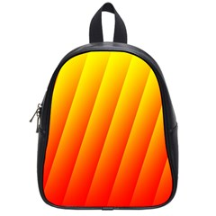 Graphics Gradient Orange Red School Bags (Small)