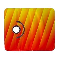 Graphics Gradient Orange Red Galaxy S3 (Flip/Folio)