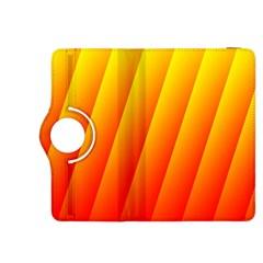 Graphics Gradient Orange Red Kindle Fire HDX 8.9  Flip 360 Case