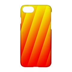Graphics Gradient Orange Red Apple Iphone 7 Hardshell Case