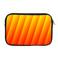 Graphics Gradient Orange Red Apple Macbook Pro 17  Zipper Case