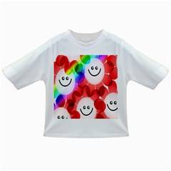 Happy Flowers Infant/Toddler T-Shirts
