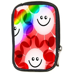 Happy Flowers Compact Camera Cases
