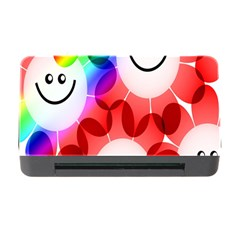 Happy Flowers Memory Card Reader with CF