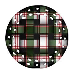 Hintergrund Tapete Round Filigree Ornament (Two Sides)