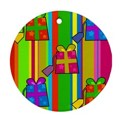 Holiday Gifts Ornament (Round)