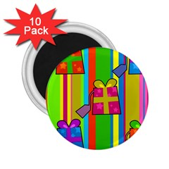 Holiday Gifts 2.25  Magnets (10 pack)