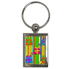 Holiday Gifts Key Chains (Rectangle)