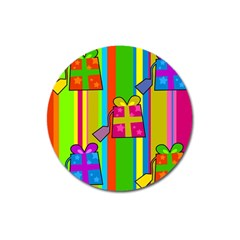 Holiday Gifts Magnet 3  (Round)