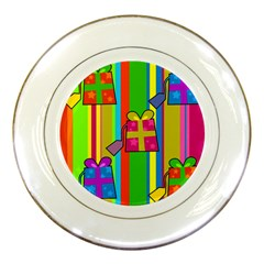 Holiday Gifts Porcelain Plates