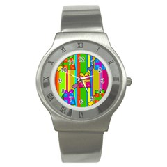 Holiday Gifts Stainless Steel Watch