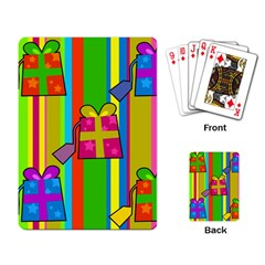 Holiday Gifts Playing Card