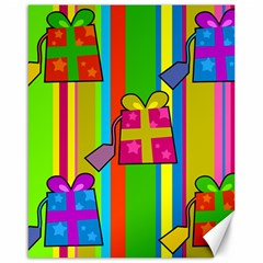 Holiday Gifts Canvas 16  x 20