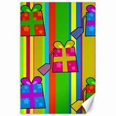 Holiday Gifts Canvas 24  x 36