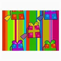 Holiday Gifts Large Glasses Cloth (2-Side)