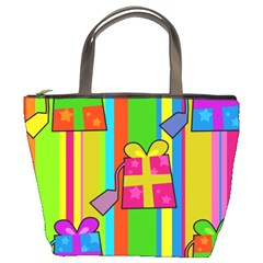 Holiday Gifts Bucket Bags