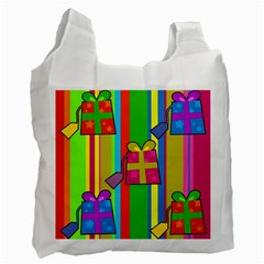 Holiday Gifts Recycle Bag (Two Side)