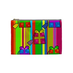 Holiday Gifts Cosmetic Bag (Medium)