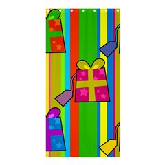 Holiday Gifts Shower Curtain 36  x 72  (Stall)