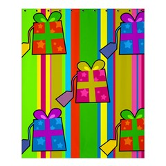 Holiday Gifts Shower Curtain 60  x 72  (Medium)