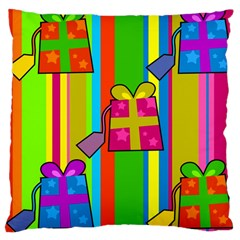 Holiday Gifts Large Cushion Case (Two Sides)
