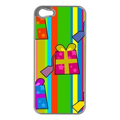 Holiday Gifts Apple iPhone 5 Case (Silver)