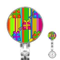 Holiday Gifts Stainless Steel Nurses Watch