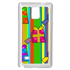 Holiday Gifts Samsung Galaxy Note 4 Case (White)