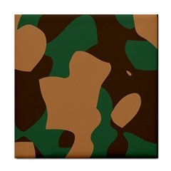 Military Camouflage Tile Coasters