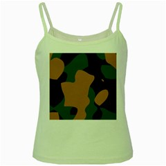 Military Camouflage Green Spaghetti Tank