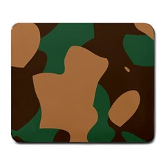 Military Camouflage Large Mousepads