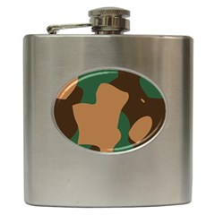 Military Camouflage Hip Flask (6 oz)