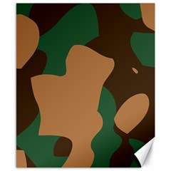 Military Camouflage Canvas 8  x 10