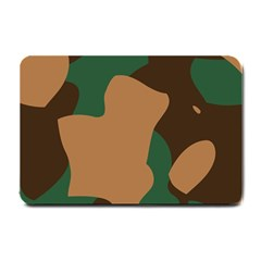 Military Camouflage Small Doormat