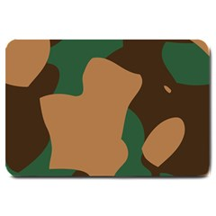 Military Camouflage Large Doormat