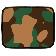 Military Camouflage Netbook Case (Large)