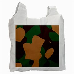 Military Camouflage Recycle Bag (One Side)