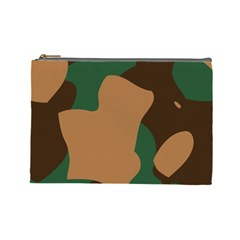 Military Camouflage Cosmetic Bag (Large)