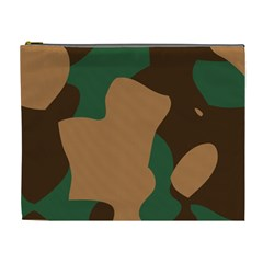 Military Camouflage Cosmetic Bag (XL)