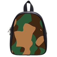 Military Camouflage School Bags (Small)
