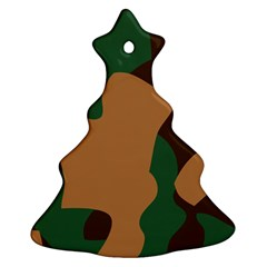 Military Camouflage Ornament (Christmas Tree)