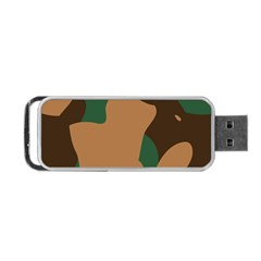 Military Camouflage Portable USB Flash (One Side)
